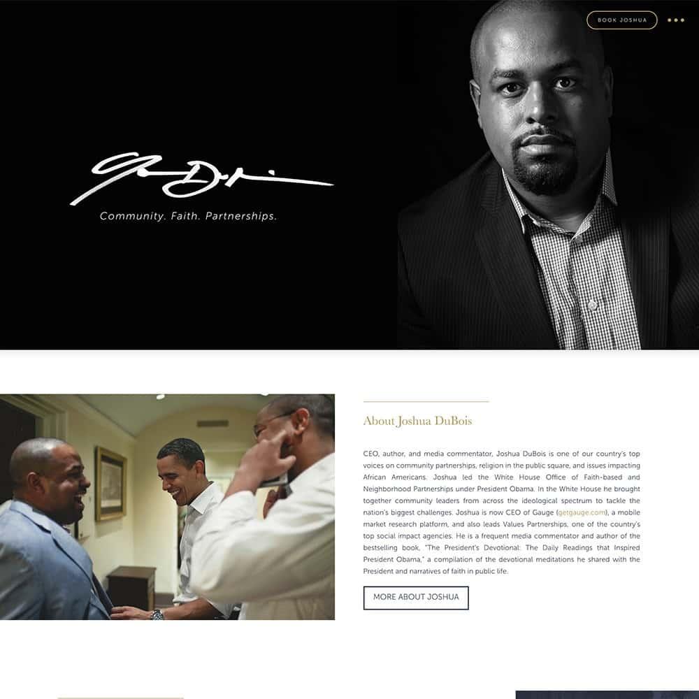 Joshua Website